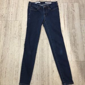 Anthropologie Pilcro High Rise Skinny Jeans 26